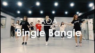뮤즈댄스 K-POP Class / AOA - Bingle Bangle (빙글뱅글) / cover - by. Bintz