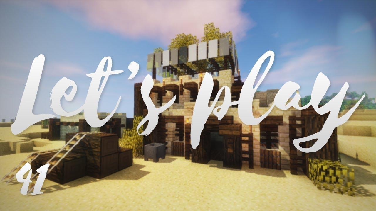 Let's play Ep41 - Nouveau projet ! - Minecraft fr - R3li3nt
