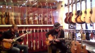 Rolf Jardemark & Max Schultz - No1 Guitarshop - Musik i butik I