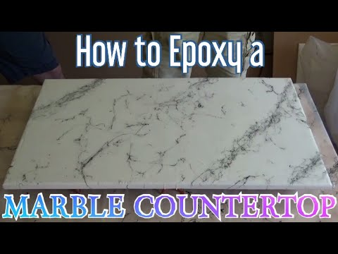 How to Epoxy Marble Countertops
