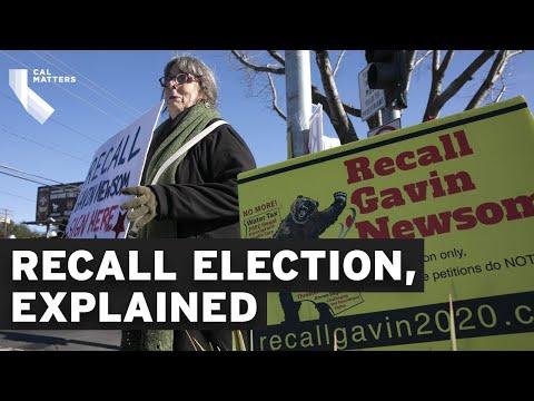 California recall election explained