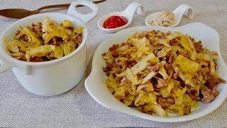 Попробуй это блюдо на вкус. Капуста по- флотски. Рецепты вторых блюд.