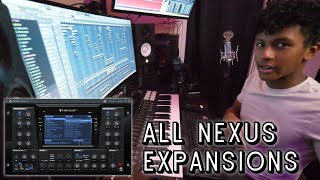 I GOT ALL THE NEXUS PRESETS! (Fl Studio Beat Making)