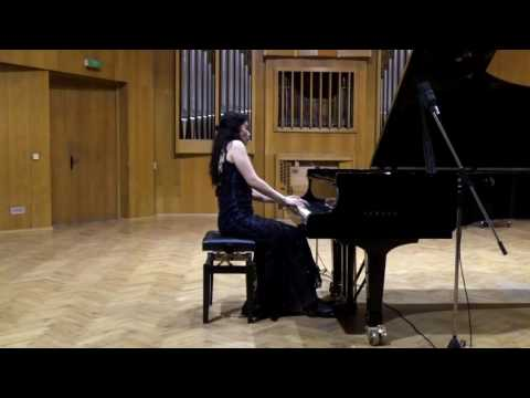 "Nadejda Tzanova - piano/ F. Liszt - Transcendental Etude No12, ""Chasse - Niege"""