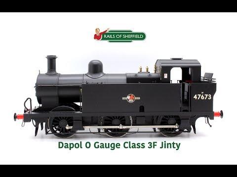 Dapol O Gauge Class 3F Jinty 0-6-0 Tank Locomotive