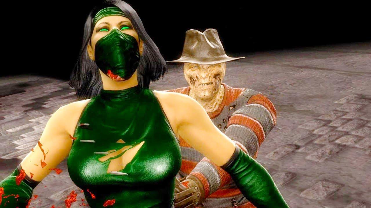 Mortal kombat girl characters get sex