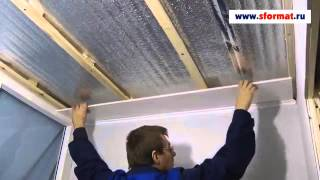 Монтаж панелей на потолок(, 2014-04-24T19:11:34.000Z)