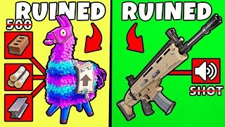 5 Things That Got RUINED in Fortnite ~  These Things Made Everyone Furious