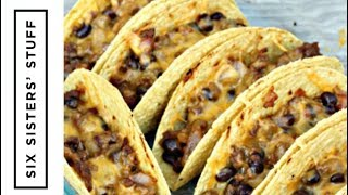 Oven Baked Beef Tacos | Six Sisters Stuff