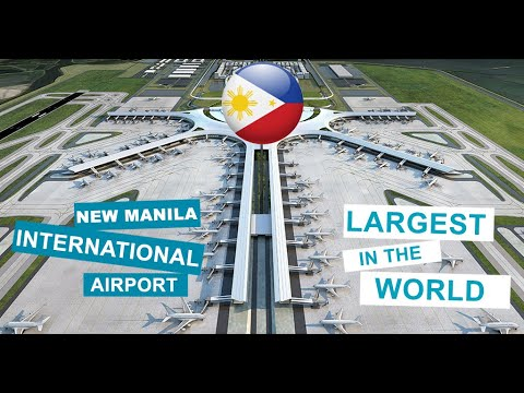 NEW MANILA INTERNATIONAL AIRPORT (NMIA)// LARGEST AIRPORT IN THE WORLD