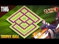 Brand New Town Hall 6 [TH6] TROPHY/WAR Base 2018!! COC BEST Th6 Trophy Base Design - Clash of Clans
