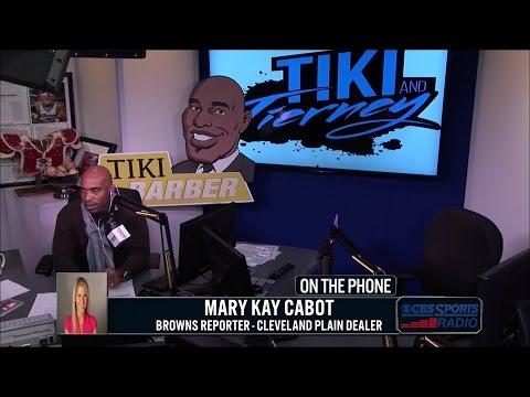 Mary Kay Cabot of Cleveland Plain Dealer talks with Tiki