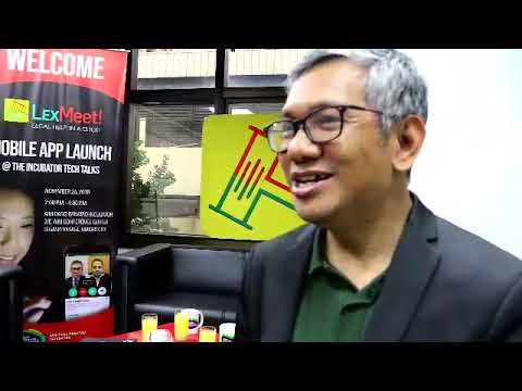 Filipino lawyer Atty. Valderama on inspiration for creating LexMeet app