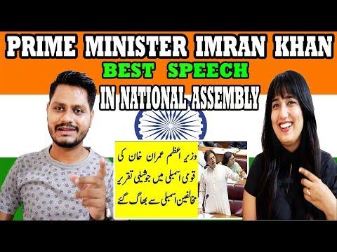 Indian Reaction On Prime Minister Imran Khan Best Speech in National Assembly   Krishna Views