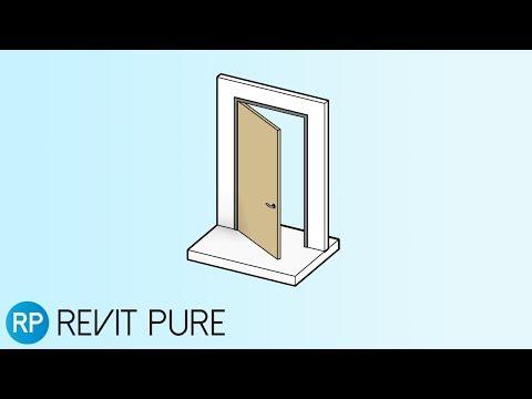 12 Tips To Master Revit Door Families — REVIT PURE