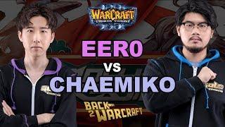 WC3 - New Years Cup - Semifinal: [UD] eer0 vs. Chaemiko [HU]