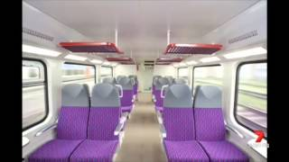 Seven News Sydney - New intercity trains (8/5/2014)