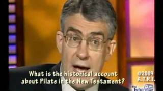 New Testament Gospels account of Pilate.