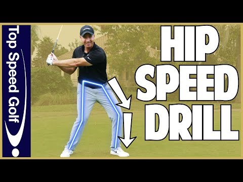How To Clear Your Hips In The Golf Swing | Flightscope Speed Drill