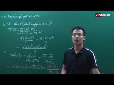 Vted.vn – Tính góc giữa hai đường thẳng trong không gian – Thầy: Đặng Thành Nam
