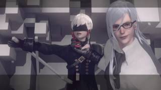 Nier: Automata 【ニーアオートマタ】 Walkthrough (Japanese Dub) Part 8 - Copied City and Twisted Religion