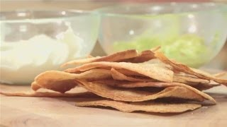 How To Bake Homemade Tortilla Chips