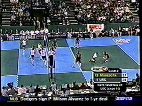 2003 Final Four USC vs  Minnesota