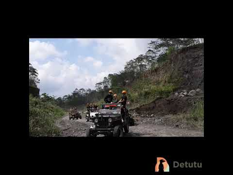 Outing COE Manulife Jakarta at Lava Tour Merapi with Detutu