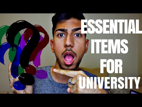 5 ITEMS THAT ALL STUDENTS FORGET TO BRING FOR UNIVERSITY // COLLEGE