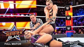 FULL MATCH - Alexa Bliss vs. Ronda Rousey - Raw Women's Title Match: SummerSlam 2018