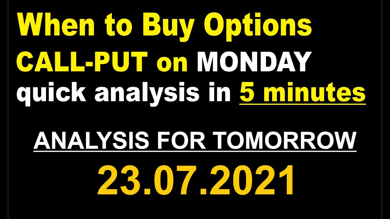 Indian Stock Market Analysis in 5 minutes for July 23, 2021 with Sushant Bakshi