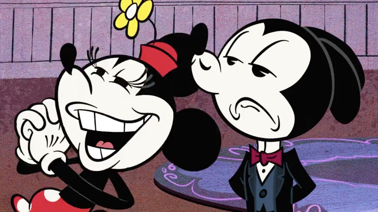 The Fancy Gentleman | A Mickey Mouse Cartoon | Disney Shorts