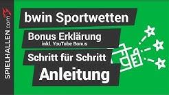 🇩🇪 Bwin Bonus 🤔: 8 Tipps schnell aus Bonus, Echtgeld zu machen 🔥