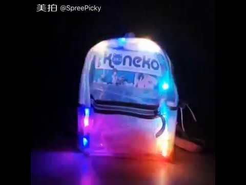 LED Light Up Backpack School Backpack SP167239
