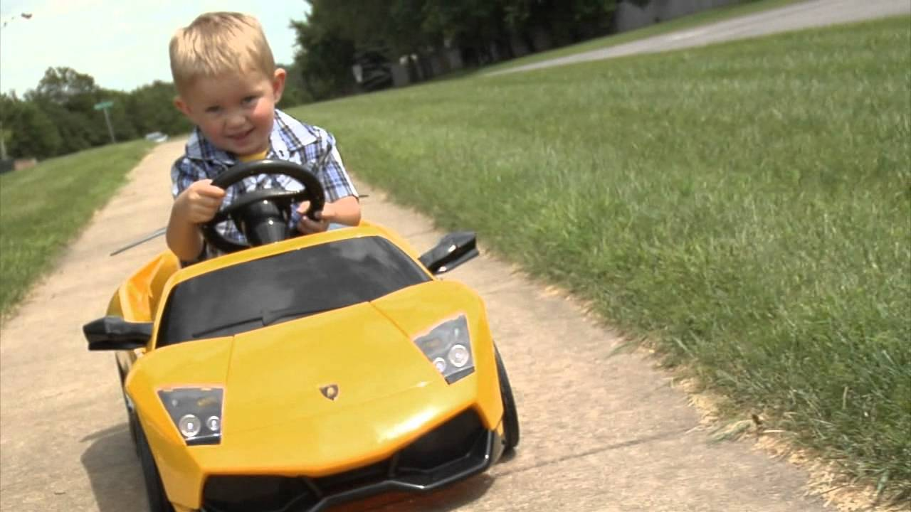 Kalee Lamborghini Kid Car