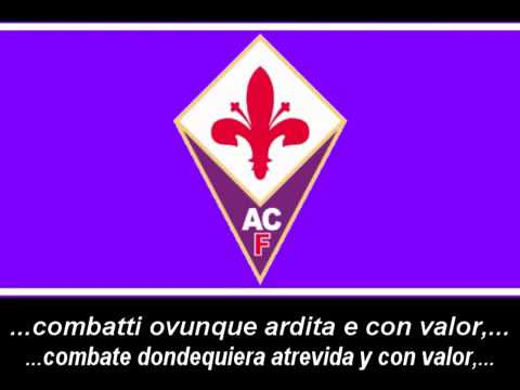 Inno ACF Fiorentina (con testo) / Anthem ACF Fiorentina (with lyrics)