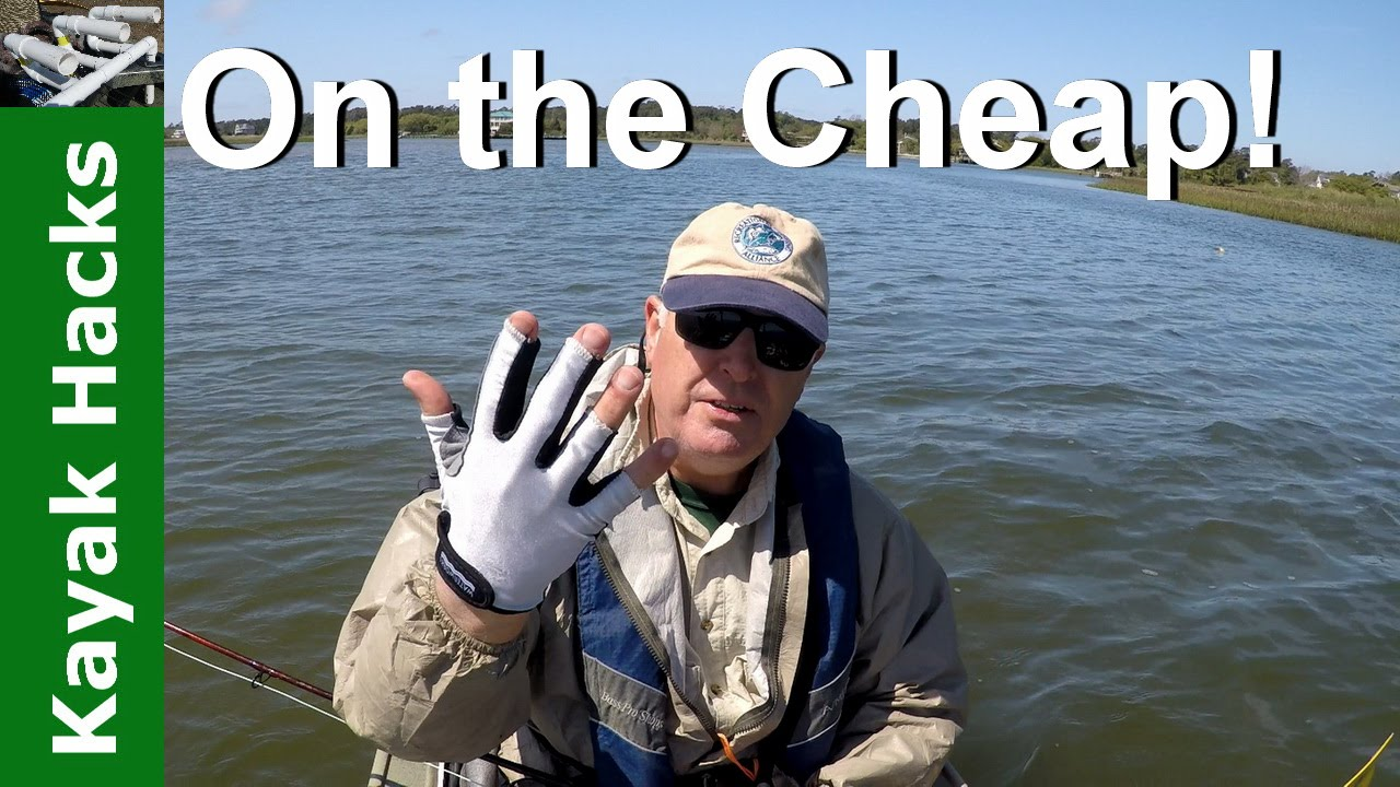 Dollar Store Glove Becomes A Fly Fishing Stripping Kayak Hacks