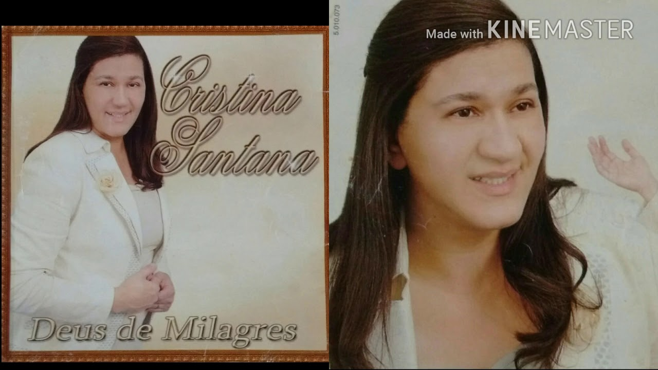 cd cristina santana deus de milagres