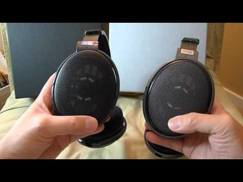 Sennheiser HD-600 vs HD-650 headphones overview and impressions