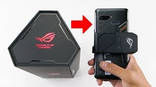 Buka box ROG PHONE Indonesia + Main PUBG Mobile