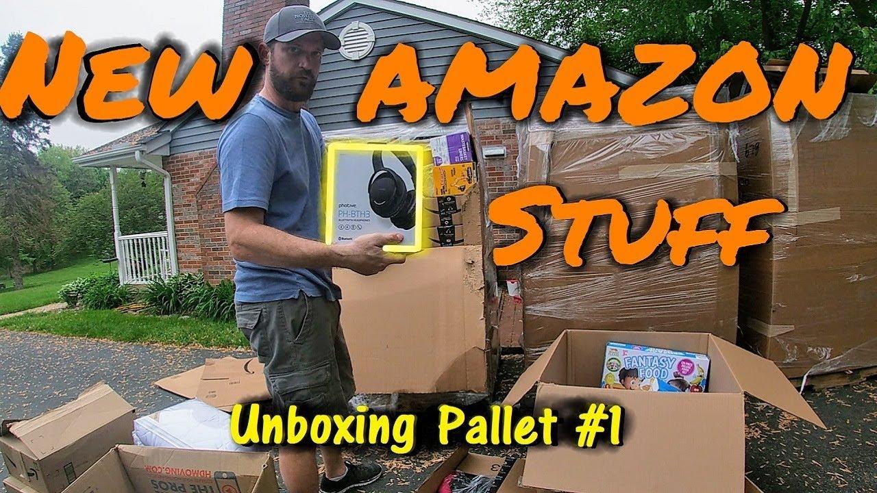 Amazon Overstock Liquidation Pallet Unboxing #1, No Returns - All New  Wholesale