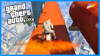 INSANE SNIPER VS MOPEDS! - GTA V MODDED GAME MODE! (GTA 5 FUNNY MOMENTS)