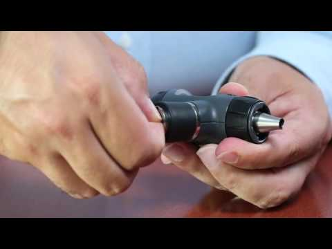 How To Change The Lamp In A Welch Allyn Ophthalmoscope Or Otoscope Youtube