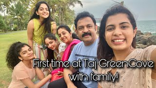 First time at Taj GreenCove with Family | Diya Krishna | Ozy Talkies