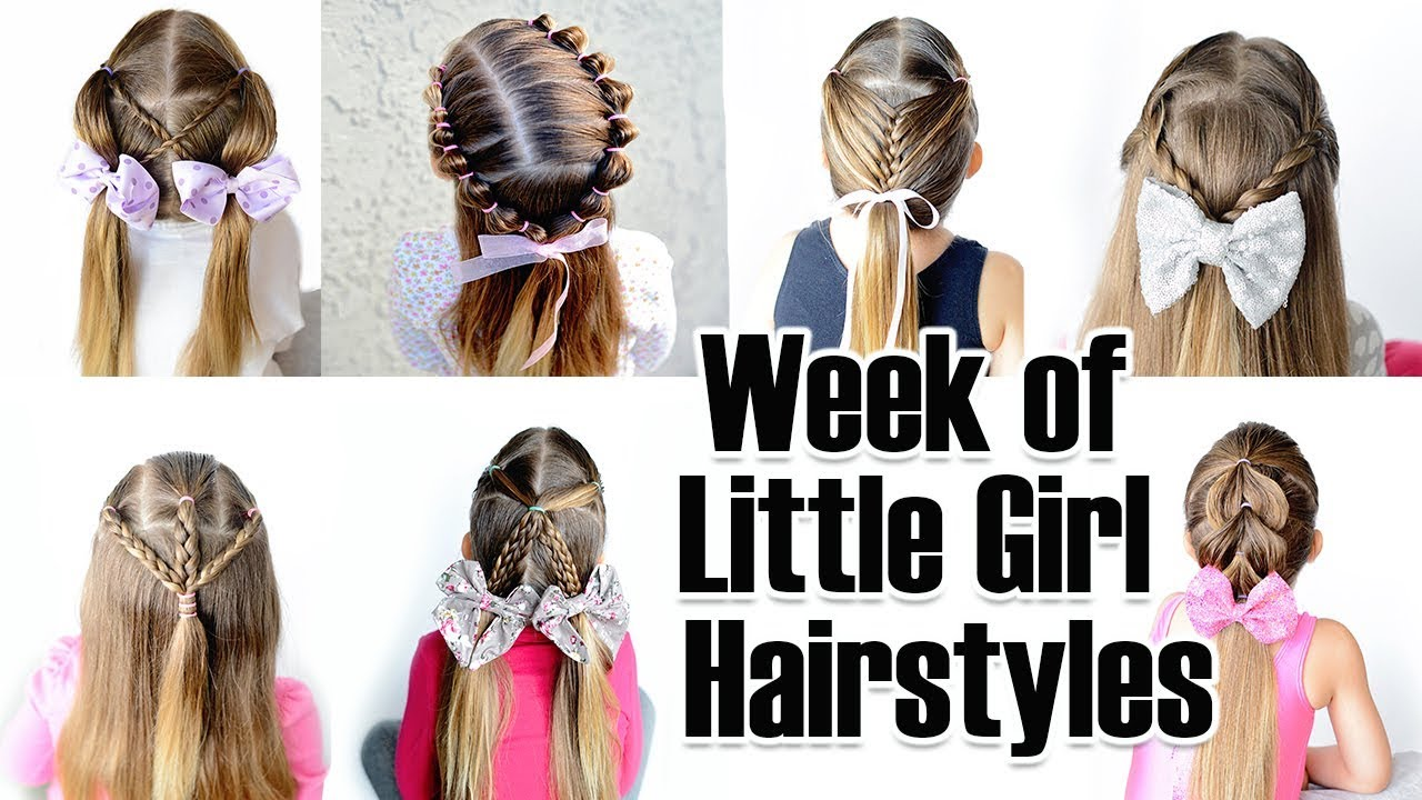 7 Quick And Easy Little Girl Hairstyles For The Week