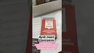 Putri melatii main Truth or dare edisi 1 hazergames