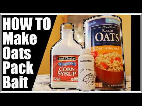 How To Make Old Fashioned Oats Syrup Pack Bait Recipe For Carp And Catfish