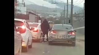 Дорожные разборки в Новороссийске