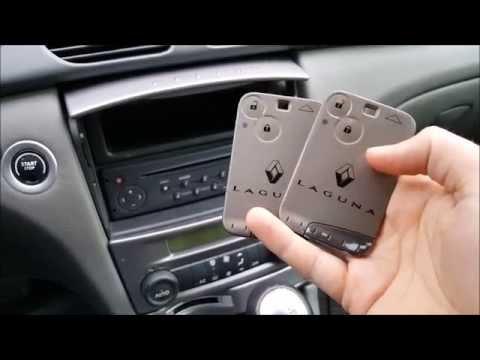 Renault Laguna 2 Phase 1 Programowanie Kart Youtube