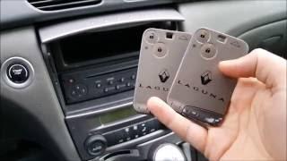 Renault Laguna 2 phase 1 - Card programming